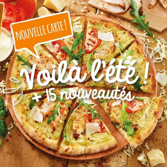 La nouvelle carte été 2020 Pizza Paï