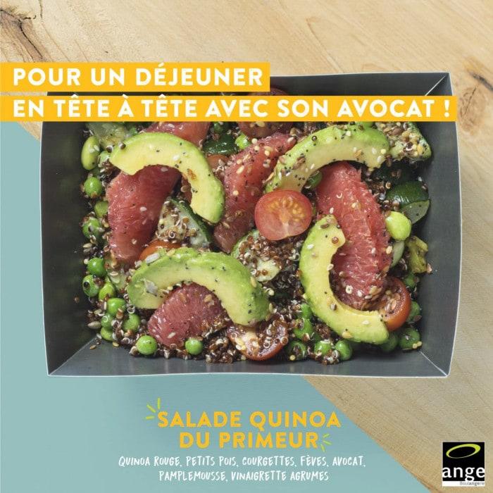 Salade végétarienne pour l'hiver