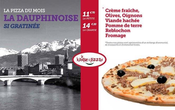 Pizza La Dauphinoise