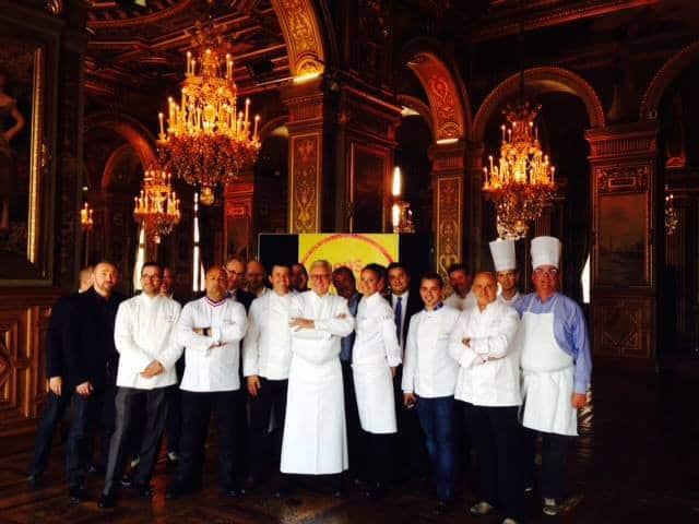 Les Chefs autour de Alain Ducasse