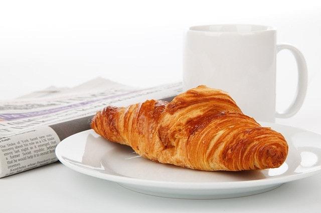 Livraison croissant et baguette