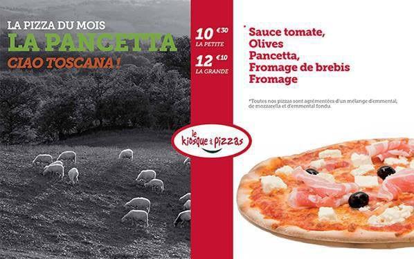 Pizza La Pancetta