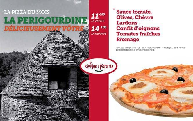 Pizza La Périgourdine