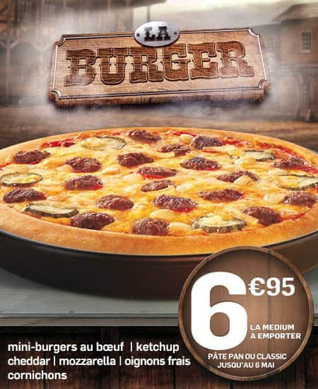 Pizza Burger chez Pizza Hut