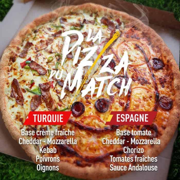 La pizza du match tous les jours chez Speed Rabbit Pizza