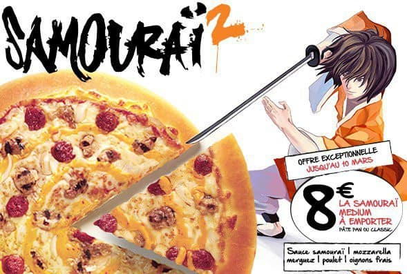 Pizza Samouraï 2
