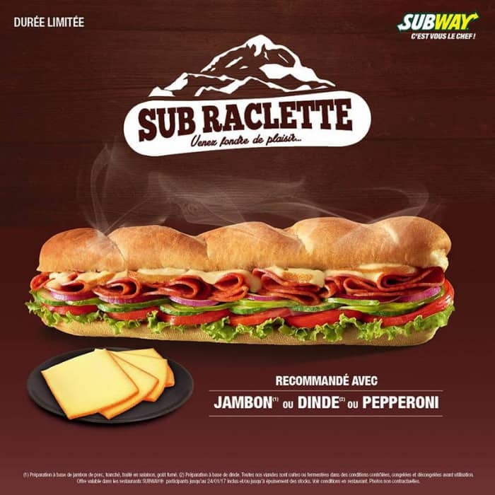 Sub Raclette