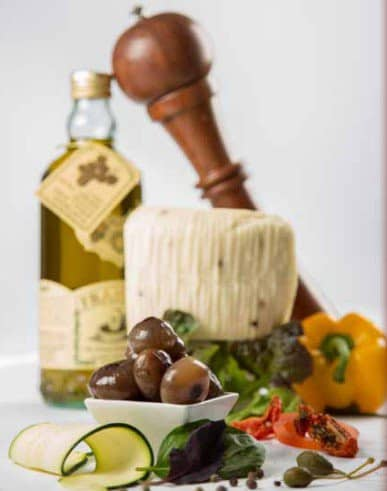 La cuisine italienne à emporter