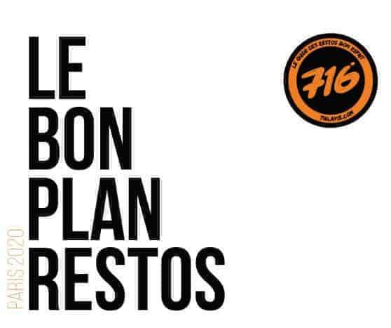 Le Bon Plan Restos Paris 2020