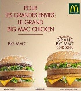Grand Big Mac Chicken de Mc Donald's
