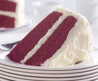 Une portion de Heinz Ketchup Cake