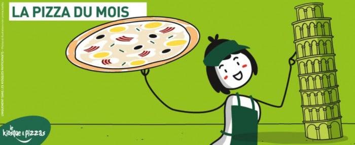 La pizza du mois : La carbo