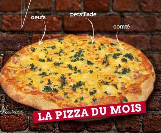 La pizza Quiche