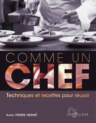 """Livre """"Comme un Chef"""""""