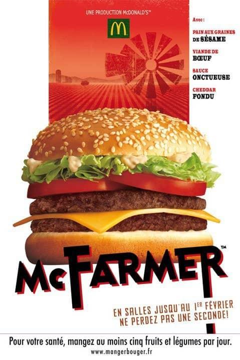 Publicité du McFarmer