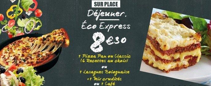 Les menus Express