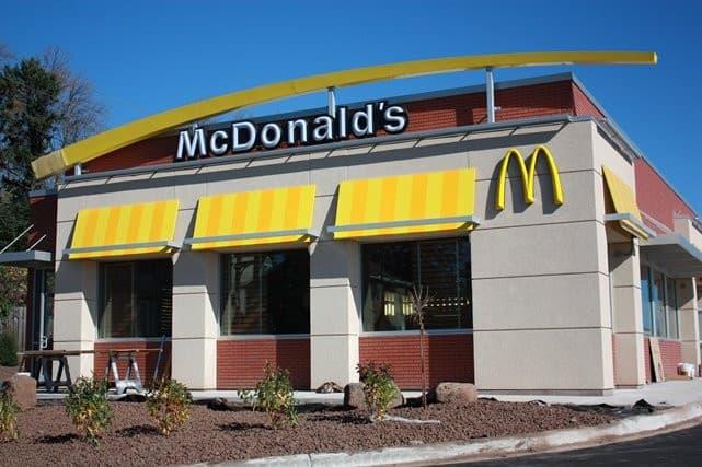 Un établissement Mc Donald's