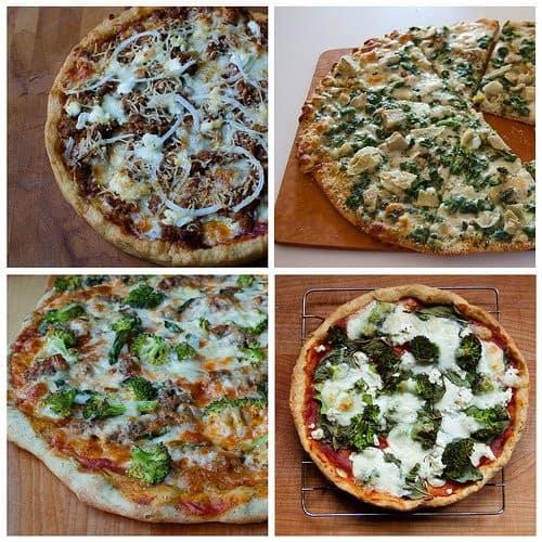 Assortiment de 4 pizza