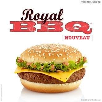 Royal BBQ Mc Donald's