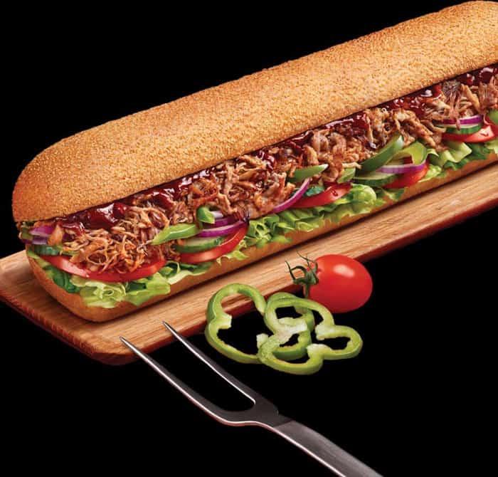 Sandwich sub Pulled Pork BBQ