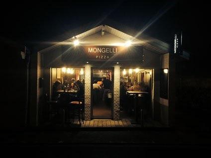 Entrée de Mongelli Pizza