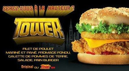 Le burger Tower