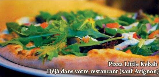 La pizza Little Kebab