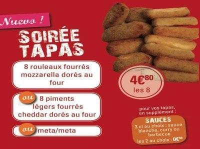 Soirée Tapas