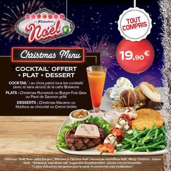 Un menu de Noël créé par Buffalo