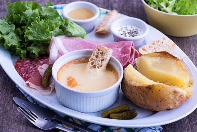 L'assiette fondue Montagnarde