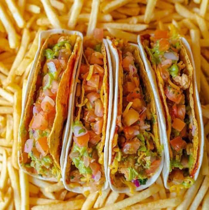 Deux Double Tacos KFC