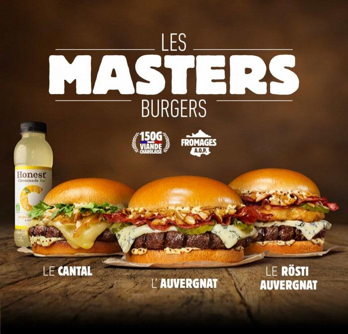 Sainte Trinité : les Masters Burgers