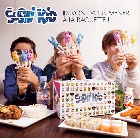 Affiche de promotion Sushi Kid