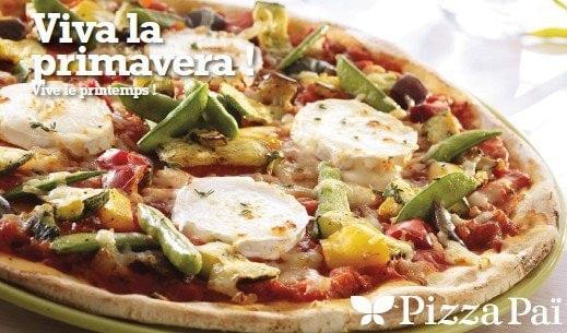La pizza Primavera