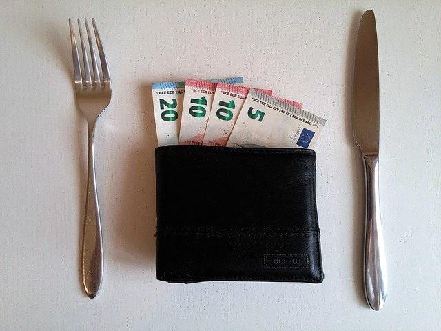 Pourboire au restaurant