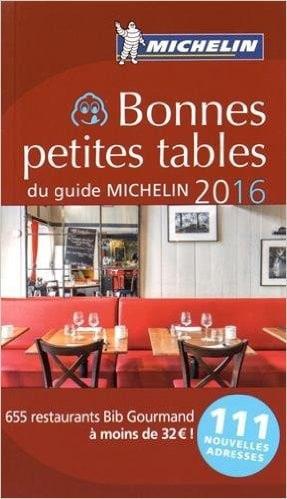 Bonnes petites tables 2016