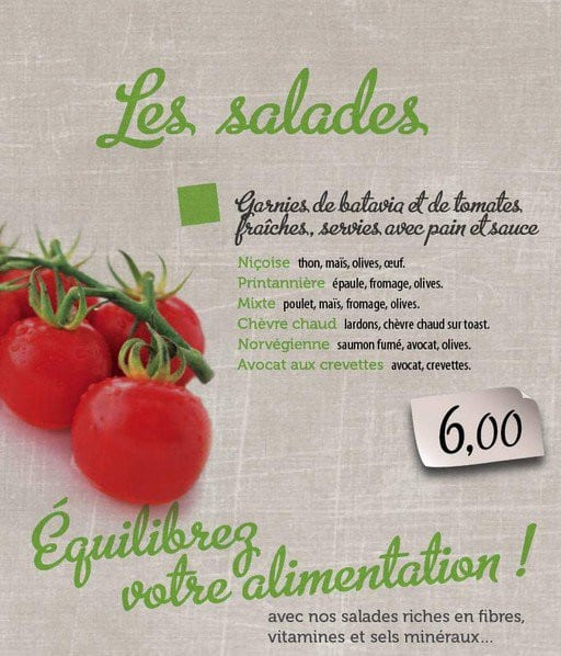 Catégorie Salades