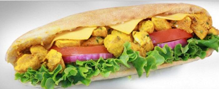 Sandwich chaud