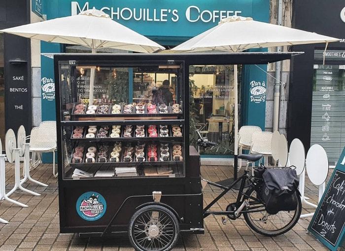 Triporteur de Machouille's Coffee