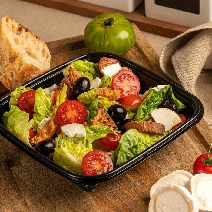Salade chèvre tomates