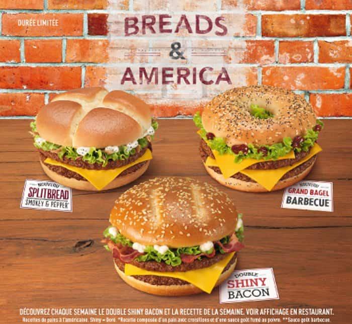 Hamburgers Breads and America