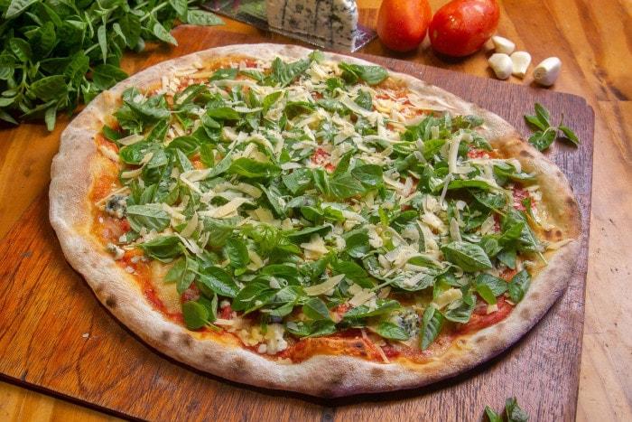 Pizza aux produits frais