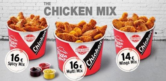 Mix Chicken de Pizza Hut