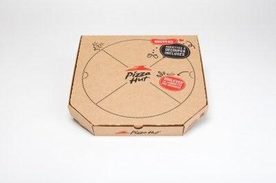 Boîte prédécoupée Pizza Hut