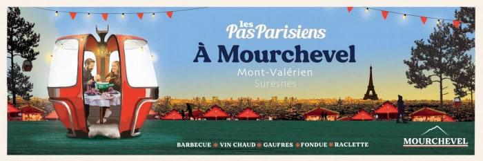 Mourchevel, restaurant d'hiver éphémère jusqu'en mars 2020