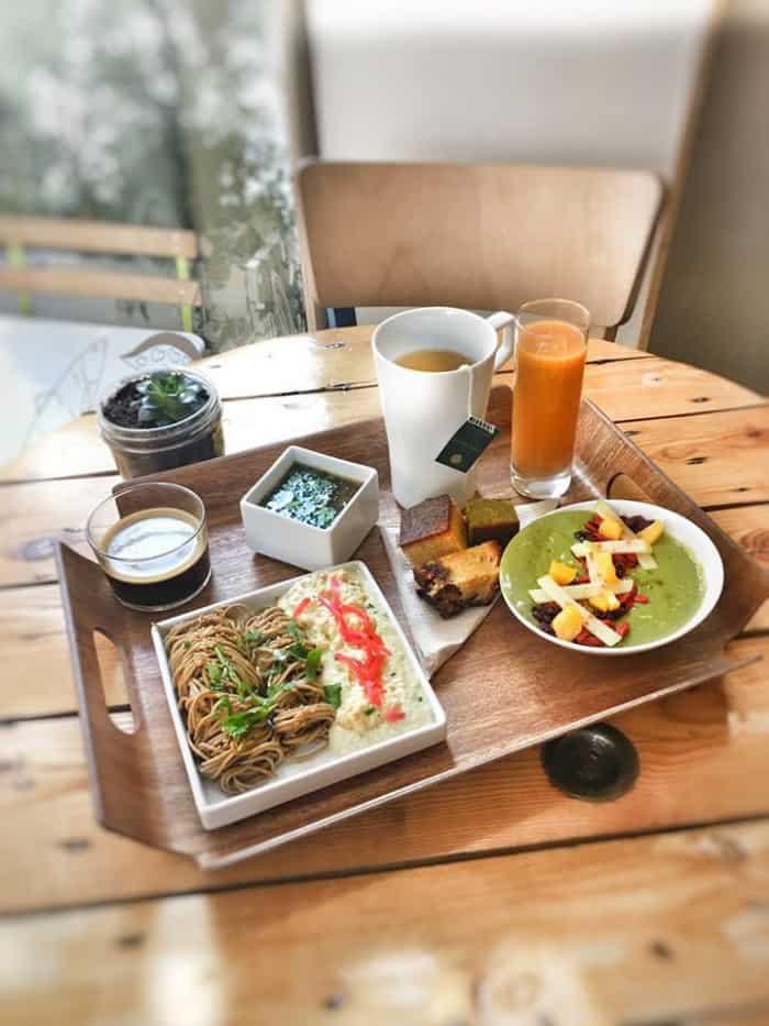 Bento-brunch végétarien