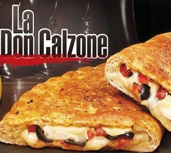Une pizza Don Calzone