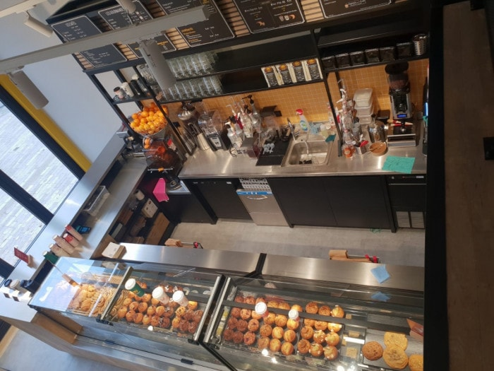 Comptoir Columbus Café Orléans Martroi