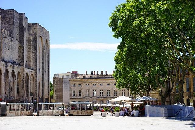 Terrasse à Avignon