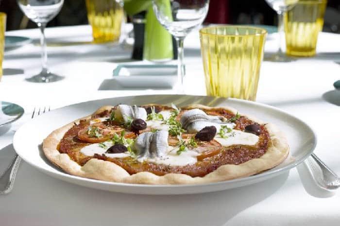 pizza La Pissaladière Revisitée